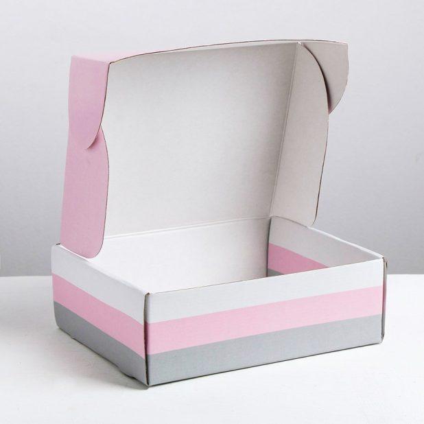 Складная коробка lifestyle, 27 × 9 × 21 см
