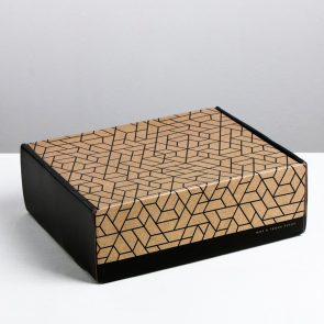 Складная коробка Мир в твоих руках, 27 × 9 × 21 см
