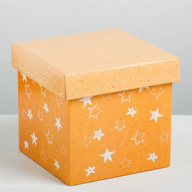 Складная коробка «звёзды», 15 × 15 × 15 см
