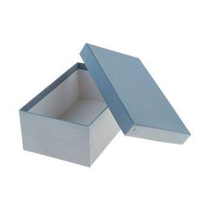 Коробка Серая, 21.5 х 13.5 х 8.5 см