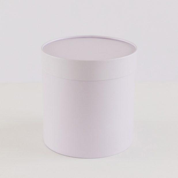 Шляпная коробка александрит, 18 х 18 см
