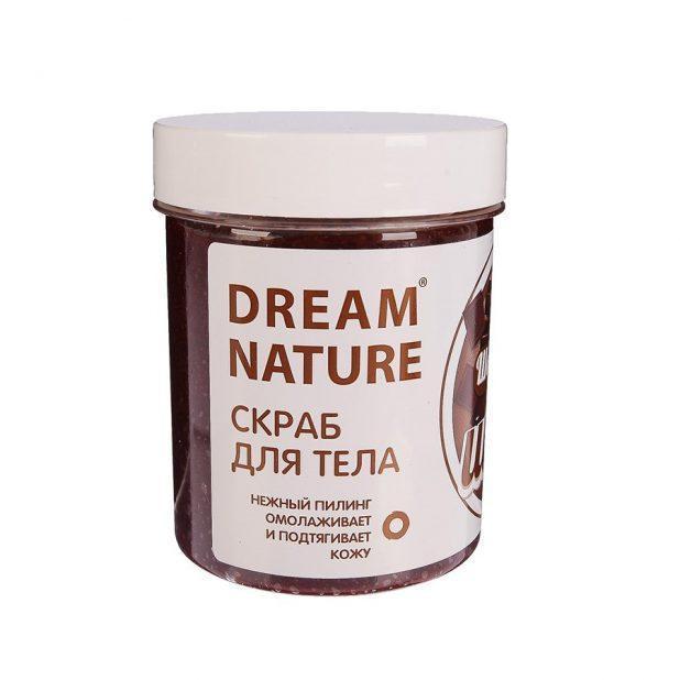 """Dream nature скраб-пилинг для тела """"шоколадный шейк"""", 250гр"""