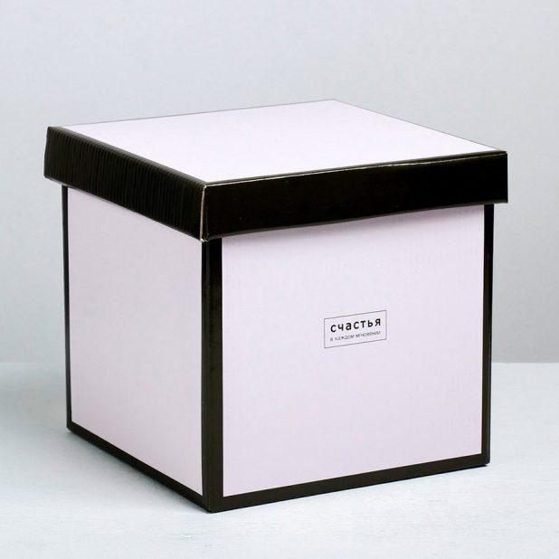 Складная коробка «стильная», 20 × 20 × 20 см