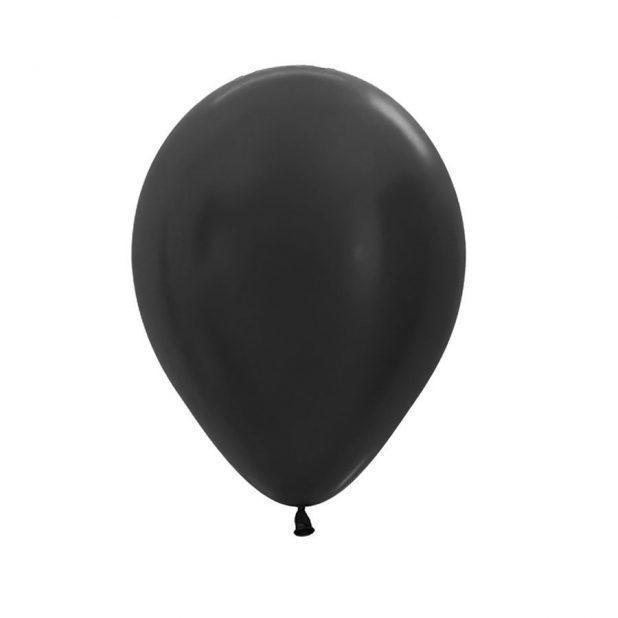 Шар латексный 12, цвет черный