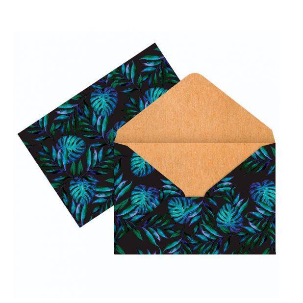 Конверт для денег «тропики», 16 × 11 см