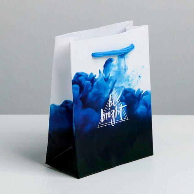Пакет ламинированный мужская энергия, 12 × 15 × 5. 5 см