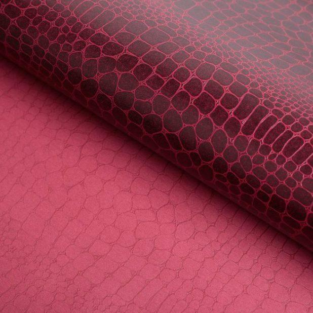 Бумага рельефная бордо, 52 х 75 см