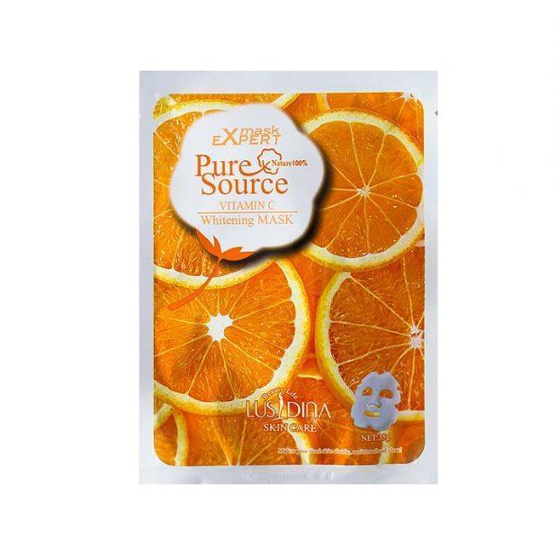 Маска для лица тканевая апельсин, 35 гр