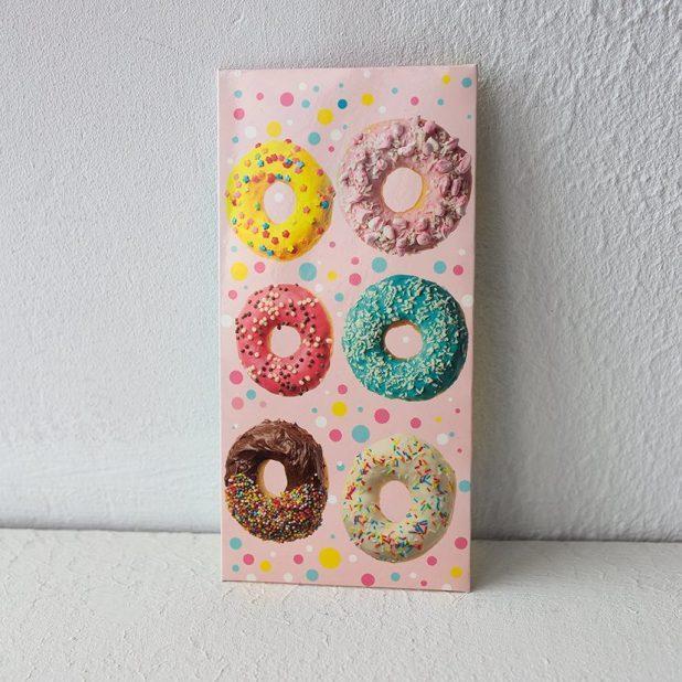 Конверт для денег пончики, 16. 5 × 8 см