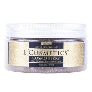 LCosmetics Крем скраб для тела Cosmo Berry, очищающий, 200 мл