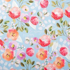 Бумага упаковочная глянцевая Blossom, 70 × 100 см