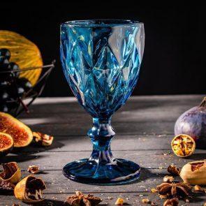 """Бокал """"Круиз"""" 200 мл,  8х15,3 см, цвет синий"""