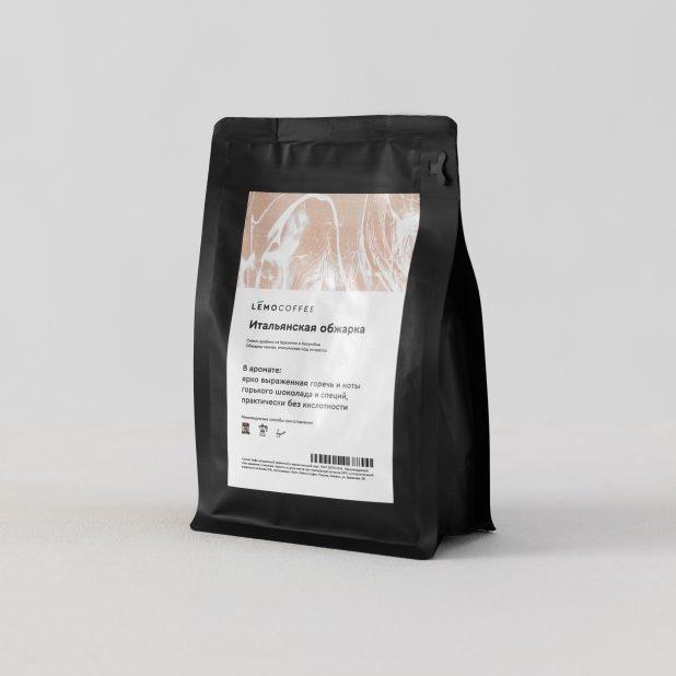 Lemocoffee итальянская обжарка, 250гр