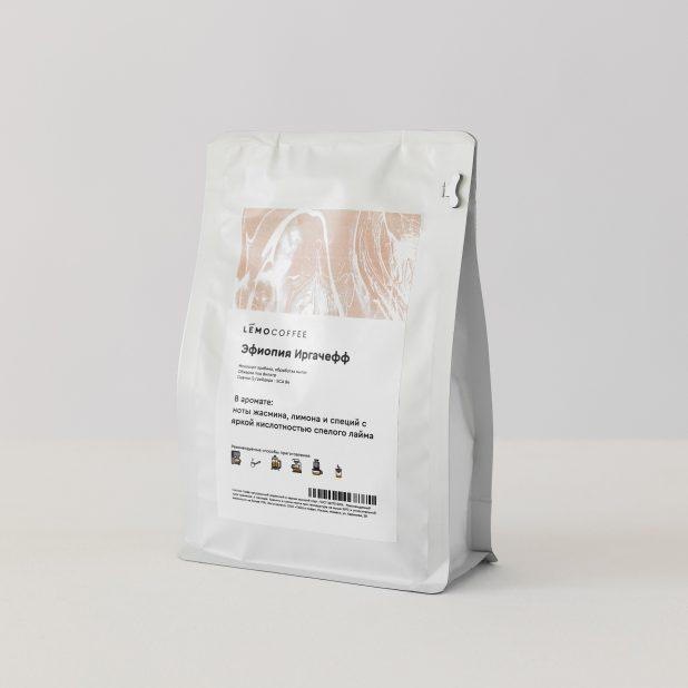 Lemocoffee эфиопия иргачефф, 250гр