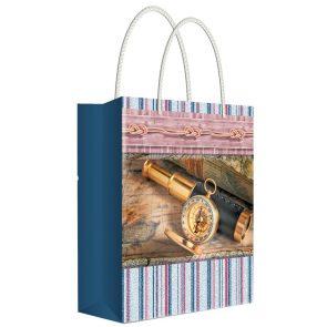 Пакет подарочный Русский дизайн, 18 х 22.7 х 10 см