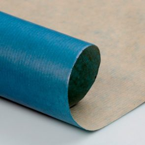 Бумага упаковочная Крафт, цвет синий