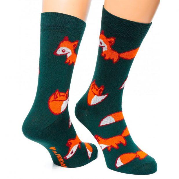 """Носки """"fox"""" хаки 38-41р"""