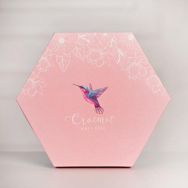 "Коробка "" счастье ""  26 × 22. 5 × 8 см"