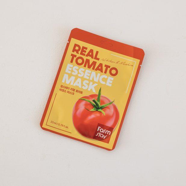 Тканевая маска для лица farmstay с экстрактом томата