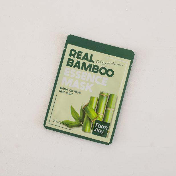 Тканевая маска для лица farmstay с экстрактом бамбука