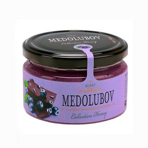 Medolubov Крем-мед черника с шоколадом, 230 гр