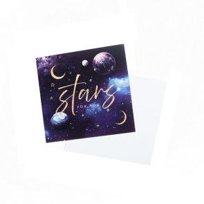 Открытка-мини Stars for you, 7 х 7 см