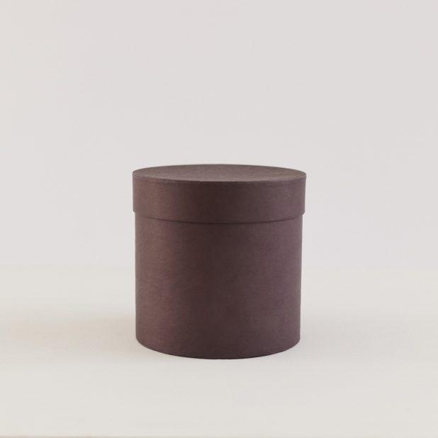 Шляпная коробка коричневая, 15 х 15 х 15 см